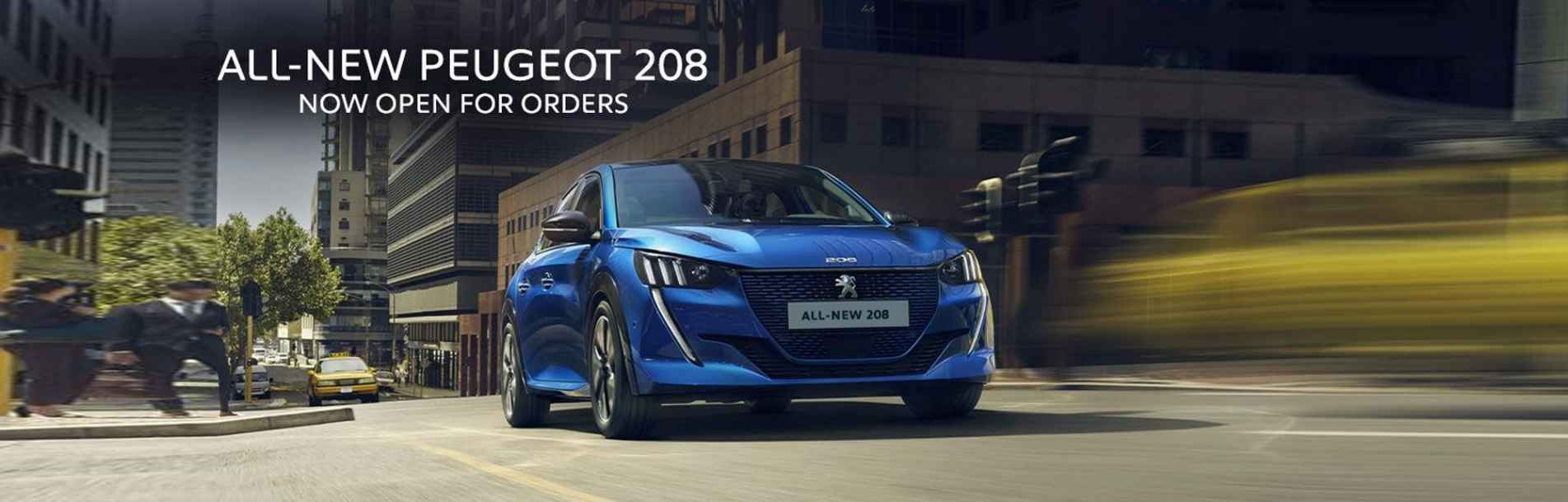 Peugeot All New 208 Peter Ambrose